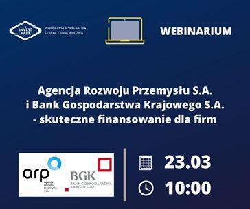 ARP S.A. i BGK S.A. - skuteczne finansowanie dla firm